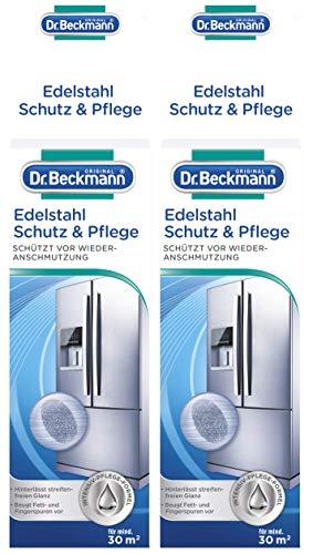 Dr. Beckmann acier inoxydable Protection & d'entretien, Lot de 2(2x 40ml)