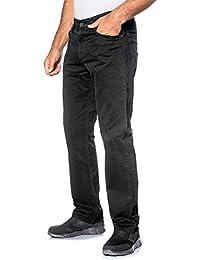 JP 1880 Herren große Größen bis 64 | Hose in schwarz | Stretch Baumwolle | Regular Fit | 5-Pocket-Form | Elastischer Bund | schwarz 58 702613 10-58