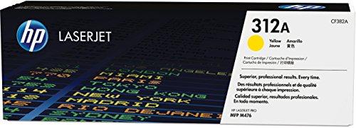 HP 312A (CF382A) Gelb Original Toner für HP Color Laserjet Pro MFP M476dn, M476dw. M476nw -