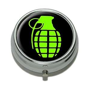Grenade Pill Case Trinket Gift Box