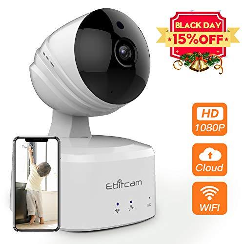 Caméra IP sans Fil 1080P HD, Caméra de Surveillance WiFi...