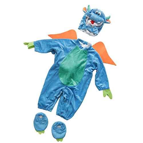 Baoblaze Baby weihnachts halloween Kostüm - Dinosaurier, 12-18 Monate