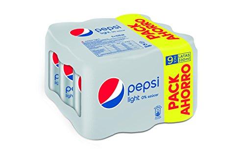 pepsi-light-bebida-refrescante-lata-33-cl-pack-de-9