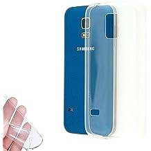 Donkeyphone UT0025 - Funda gel para Samsung Galaxy S5 Mini (silicona ultra fina) transparente