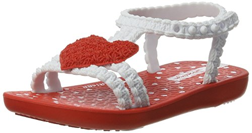 Ipanema My First Baby, Chaussures Marche Bébé Fille Mehrfarbig (red/white)