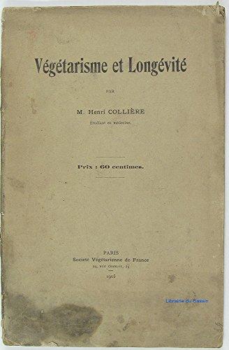 Végétarisme et Longévité