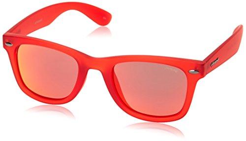 Polaroid Unisex-Erwachsene P8400-0Z3-OZ Sonnenbrille, Rot (Rojo), 50
