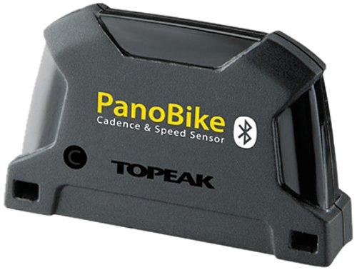 Topeak, Accessorio per ciclocomputer, Sensore di velocità e cadenza Bluetooth PanoBike, Nero (Schwarz - schwarz)