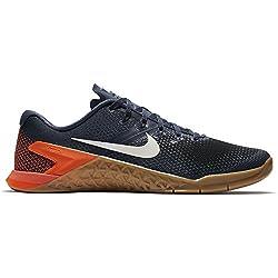 Nike Men's Metcon 4 Training Shoe Blue Blue Size: 12