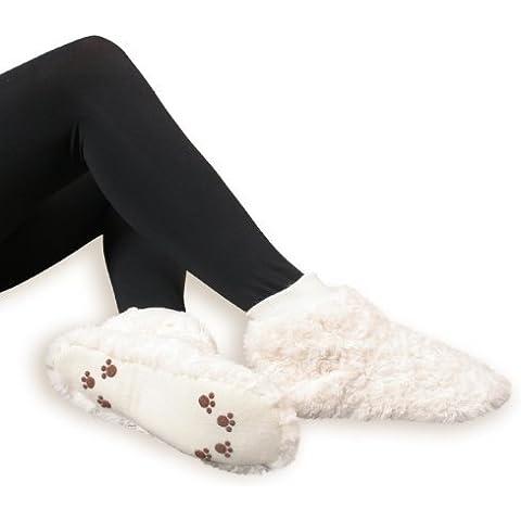 Par de zapatillas blandas de estar por casa para mujer - Mullidas y con suela de ABS - Calidad de celodoro - Varios colores