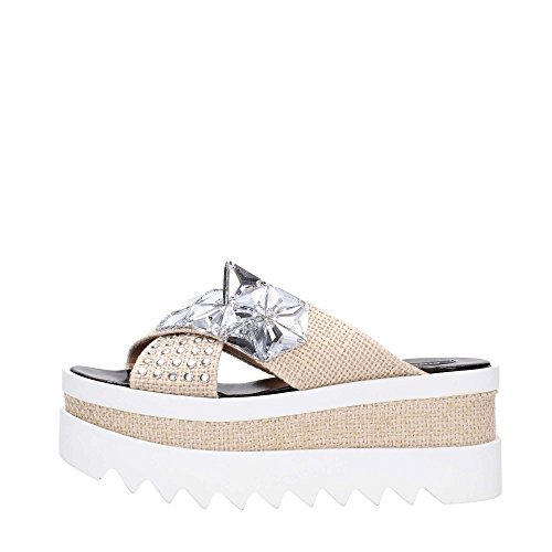 Pinko, Mules pour Femme Beige