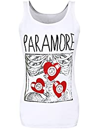 Paramore X-Ray Official Ladies Skiiny Fit Vest Top (XL)