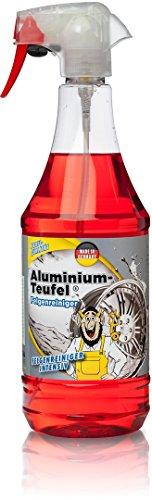 TUGA Aluminium Teufel Felgenreiniger Intensiv, 1000 ml Sprühflasche