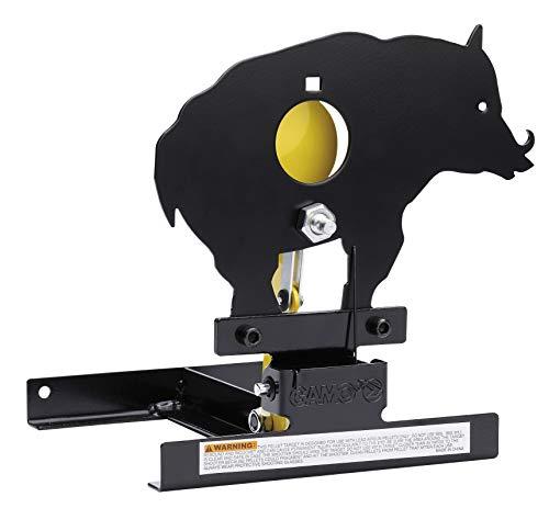 Gamo Outdoor Diana Cible de tir basculante, avec disques réducteurs, Homme, Noir, Taille Unique