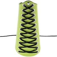 WFZ17 - Brazalete Unisex de Piel sintética para antebrazo, Color Verde, Tamaño Talla única