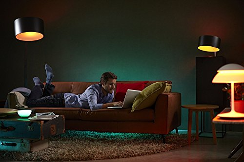 Philips Hue LED Lampe E27 Starter Set inklusive Bridge, 2. Generation, 3-er Set, dimmbar, 16 Mio Farben, app-gesteuert - 10