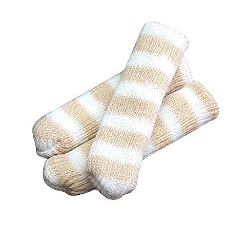 Meubles Knit Socks sol Protector Épaissir Chaise / Table Jambières 24 PCS-A16