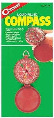 Coghlans Pocket Compass - Compás de navegación para barcos, color negro
