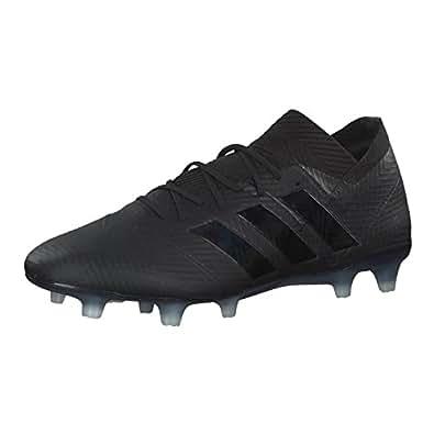 adidas X 18.1 Fg, Scarpe da Calcio Uomo, Nero (Negbás/Ftwbla 000), 40 EU