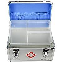 GJ@ + Medizinische Notfall-Box Haushalts-Aluminium-Legierung Schloss Medizinische Ausrüstung Fabrik Erste-Hilfe-Medizin-Box... preisvergleich bei billige-tabletten.eu