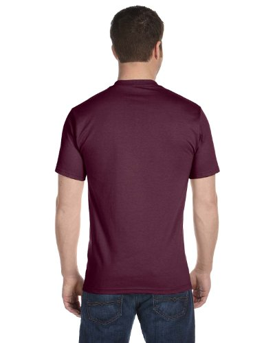 Hanes – t-shirt a maniche corte, 5180 Maroon