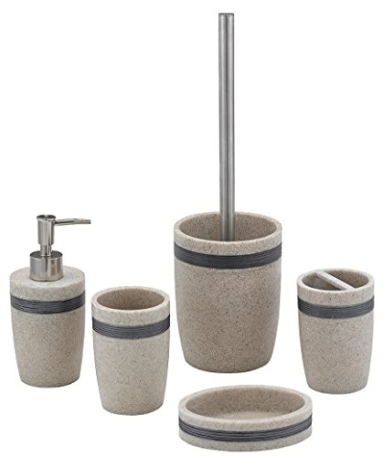 aquila-sand-resin-complete-5-piece-bathroom-accessory-set-with-a-dull-silver-band-showerdrape