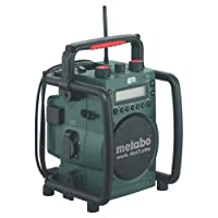 Advanced Metabo RC 14 - 18v Worksite Radio & Battery Charger [Pack of 1] --
