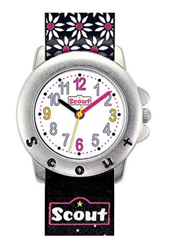 Scout Mdchen Analog Quarz Uhr mit Lederimitat Armband 280393027