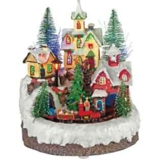 Weihnachtsdorf eisenbahn brandir weihnachtsdeko beleuchtung - Amazon weihnachtsdeko ...