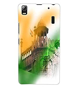 ColourCraft Printed Design Back Case Cover for LENOVO A7000 TURBO