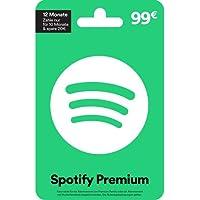 Spotify Premium 99 EUR für 12 Monate - 10 Monate zahlen & 20 EUR sparen - für Deutschland - per Post