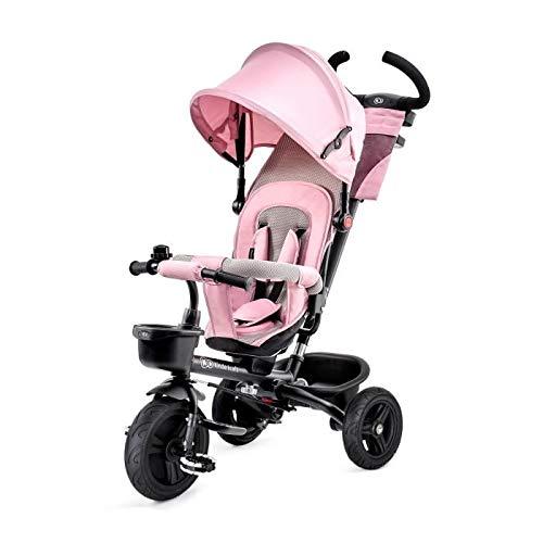 Kinderkraft Triciclo Bebé Plegable Aveo 6en1 Trike Bicicleta para Niños rosa
