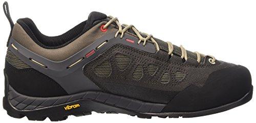 Salewa Ms Firetail 3, Chaussures de Randonnée Homme Multicolore (Black Olive/papavero)