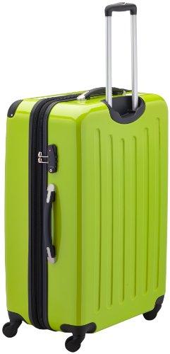 HAUPTSTADTKOFFER - Alex - Hartschalen-Koffer Koffer Trolley Rollkoffer Reisekoffer Erweiterbar, 4 Rollen, TSA, 75 cm, 119 Liter, Apfelgrün - 3