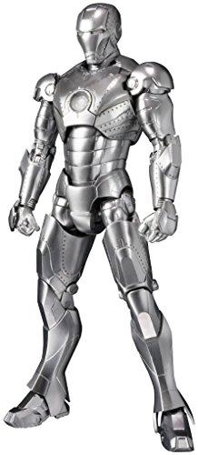 Bandai ban17784Tamashii Nationen S.H. Figuarts Iron Man MK II und Hall of Armor Set Action Figur