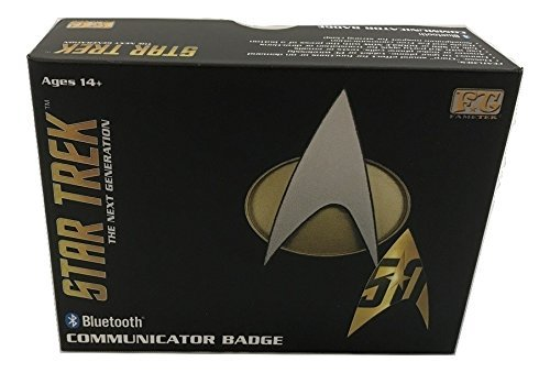 Star Trek TNG Bluetooth Communications Badge Communications Port