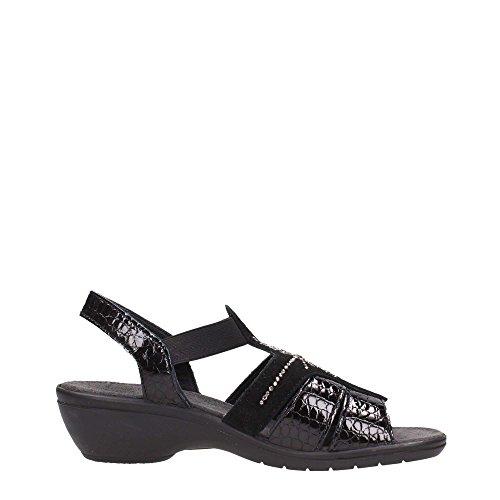 Enval 7973000 Sandalo Donna Nero