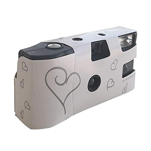Retro Kamera 3.5MM Film Kamera Mit Blitz Lampe Handbuch Optical Point und Shoot