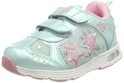 Lico Mädchen Starshine V Blinky Sneaker, Türkis (Türkis/Rosa Türkis/Rosa), 29 EU