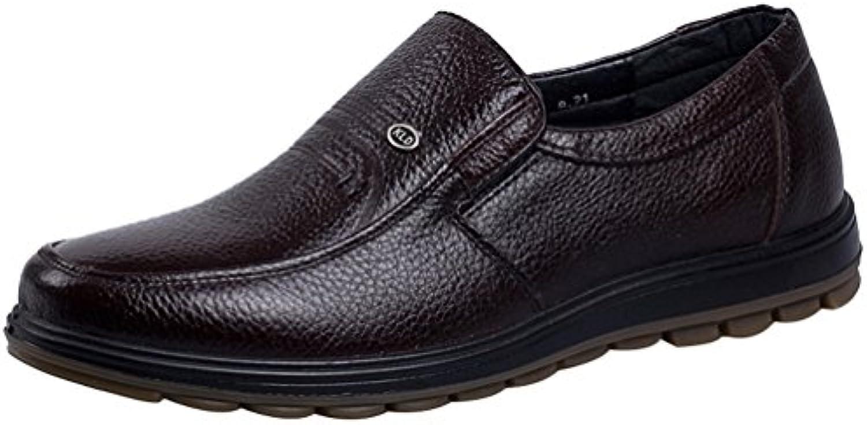 Salabobo - Zapatos Planos con Cordones hombre, color marrón, talla 41