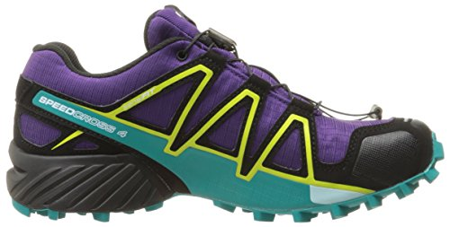 Spri Pavone acai Percorso Speedcross Zolfo 4 Chaussures De Blu Viola Femme Gtx W Salomon Profondo qZTwzPn77