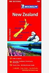 New Zealand: Map (Michelin National Maps) Map