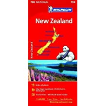 New Zealand Map 2017 (Michelin Regional Map)