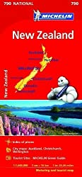 New Zealand - Michelin National Map 790 (Michelin National Maps)