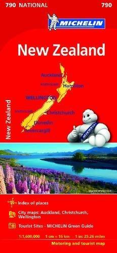 Mapa National NUEVA ZELANDA (Carte nazionali) por MICHELIN