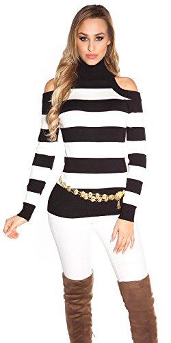Koucla - Pull - Femme Taille unique Noir