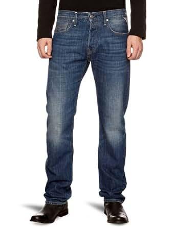 Replay Jennon Straight Men's Jeans Night Blue W33 INxL34 IN
