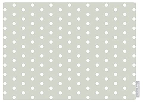 Shabby Vintage Country Chic Sage Polka Dot 100% Cotton Tablecloth 3m / 119