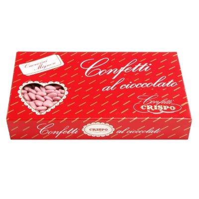 Confetti crispo | cuoricini mignon | rosa | 1 kg
