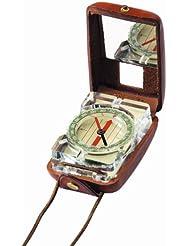 Barigo Modell 16 Acryl navigation Kompass und Sichtung, in Lederetui